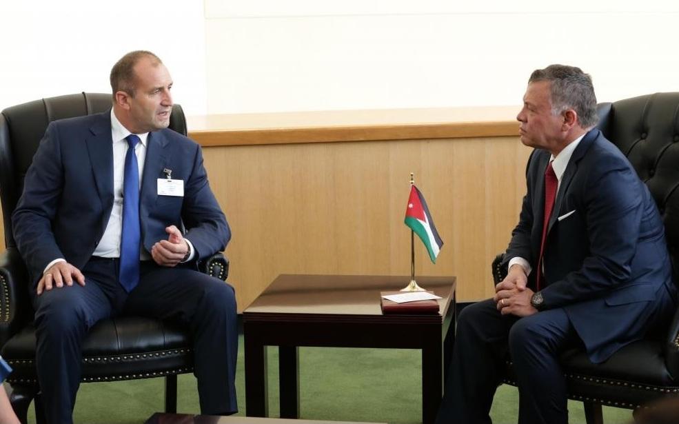 Cumhurbaşkanı Radev Bulgaristan Yakın Doğu da konumlarını güçlendirmeli